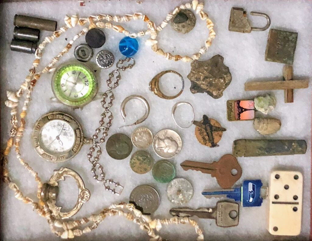found treasures